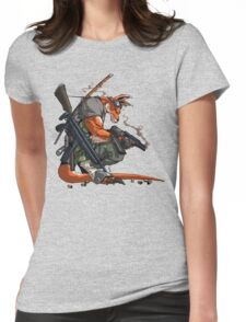 Killeroo by Andie Tong Womens Fitted T-Shirt