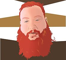 Action Bronson II by solglo