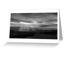 Sun Shining on the Righteous? Greeting Card