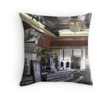 Airline Diner Throw Pillow