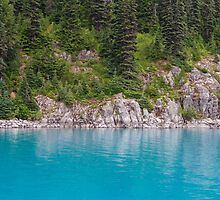 The Turquoise Water of Lake Garibaldi by journeysincolor
