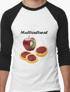 Multicultural Fruit Men's Baseball ¾ T-Shirt