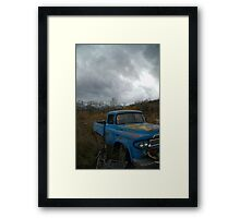 Desolate Rust Framed Print