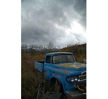 Desolate Rust Photographic Print