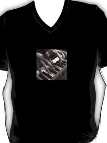 Soft Pads, Keyboard Player Oil Painting T-Shirt