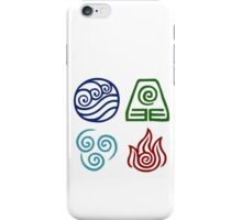 Avatar - Elements Symbols iPhone Case/Skin