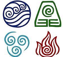 Avatar - Elements Symbols by alisa-mmxii