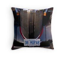 1938 Chrysler Mopar Throw Pillow