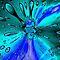 BLUE PHOTO SHOPPED IMAGES - CIRCLES, ETC