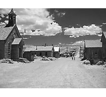 Bodie A Ghost Town - infrared Photographic Print
