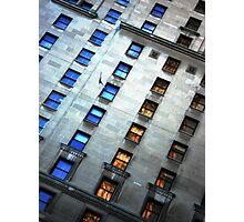 Royal York windows Photographic Print