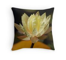 Winery Flower Throw Pillow