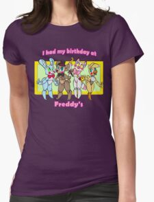 Birthday at Freddy's  Womens Fitted T-Shirt