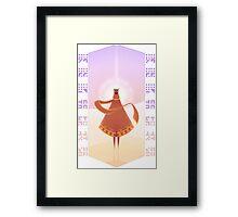 The Journeyer Framed Print