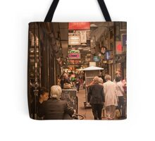 Lunchtime in Melbourne with friends Tote Bag
