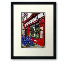 Knights Town Coffee Ireland Framed Print