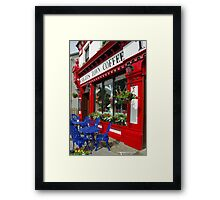 Knights Town Coffee Ireland Framed Print