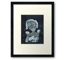 Thinking Angel Framed Print