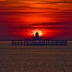 Moody Pier Head by Stuart Blackledge