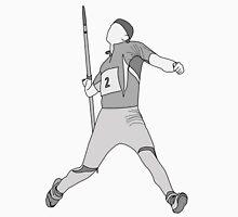 pitkamaki Javelin outlined Unisex T-Shirt