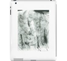 trees in hoarfrost iPad Case/Skin