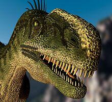 Monolophosaurus by 3dHistory