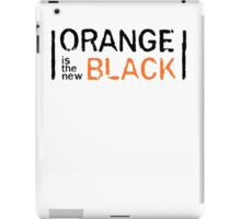 ORANGE IS THE NEW BLACK iPad Case/Skin