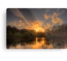 Sunset at Appletree Cottage, Adelaide Hills Metal Print
