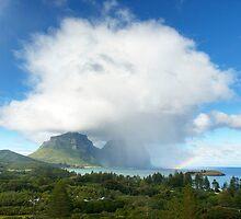 Lord Howe Island Rainbow by Geoffrey Chang