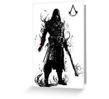 assassin's killer Greeting Card