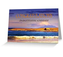 Congratulations Greeting Card Greeting Card