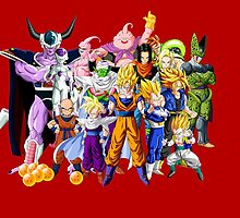 Dragon Ball Z Squad by BlueBeast