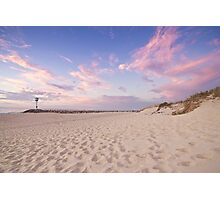 Sunset at City Beach Photographic Print