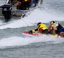 Splish...splash...I'm going to crash........!! by Roy  Massicks