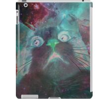 Space Galaxy Ghost Cat Thing iPad Case/Skin