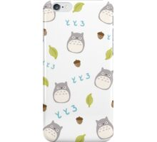 Totoro pattern iPhone Case/Skin