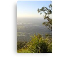 On top of mount dandenong Canvas Print