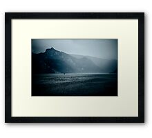 afraid of the light II Framed Print