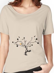 electric tree three Women's Relaxed Fit T-Shirt