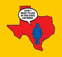 Texas vs Women by tastypaper