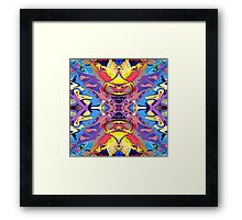 Abstract Colorful Symmetry  Framed Print