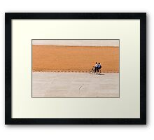 Bike boys Framed Print