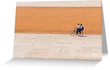 Bike boys by Juha Sompinmäki