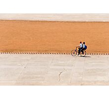 Bike boys Photographic Print