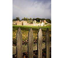 Port Arthur fence Photographic Print