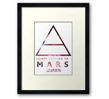 30 Seconds To Mars Universal Framed Print