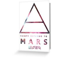 30 Seconds To Mars Universal Greeting Card