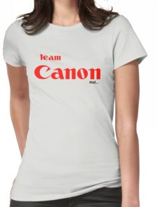 nats canon tee... Womens Fitted T-Shirt