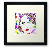 Rock Girl Framed Print