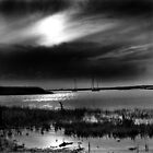 Storm approaching Brancaster Staithe, Norfolk, UK by Richard Flint